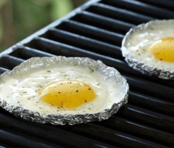 uovo all'occhio