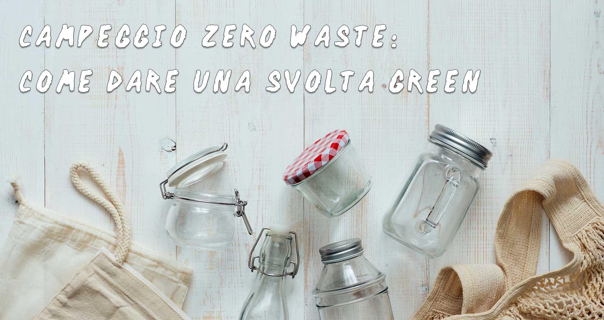Eco camping Zero waste
