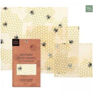 involucro a base di cera d'api per conservare alimenti